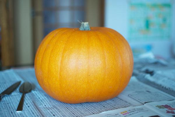 ハロウィンかぼちゃの作り方([1]道具の確認)