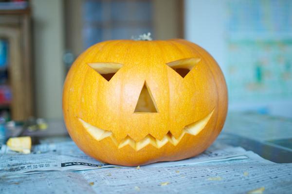 ハロウィンかぼちゃの作り方([6]完成!)